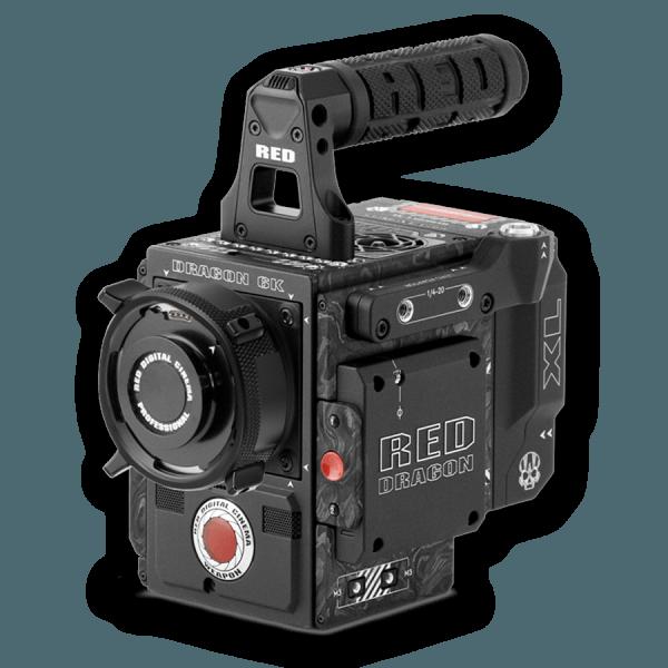 Camera Hire RED Weapon Carbon Fiber 6K Kit