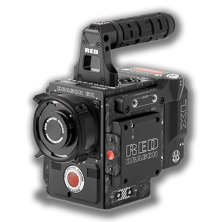 Camera Hire RED Weapon Carbon Fiber 6K Kit