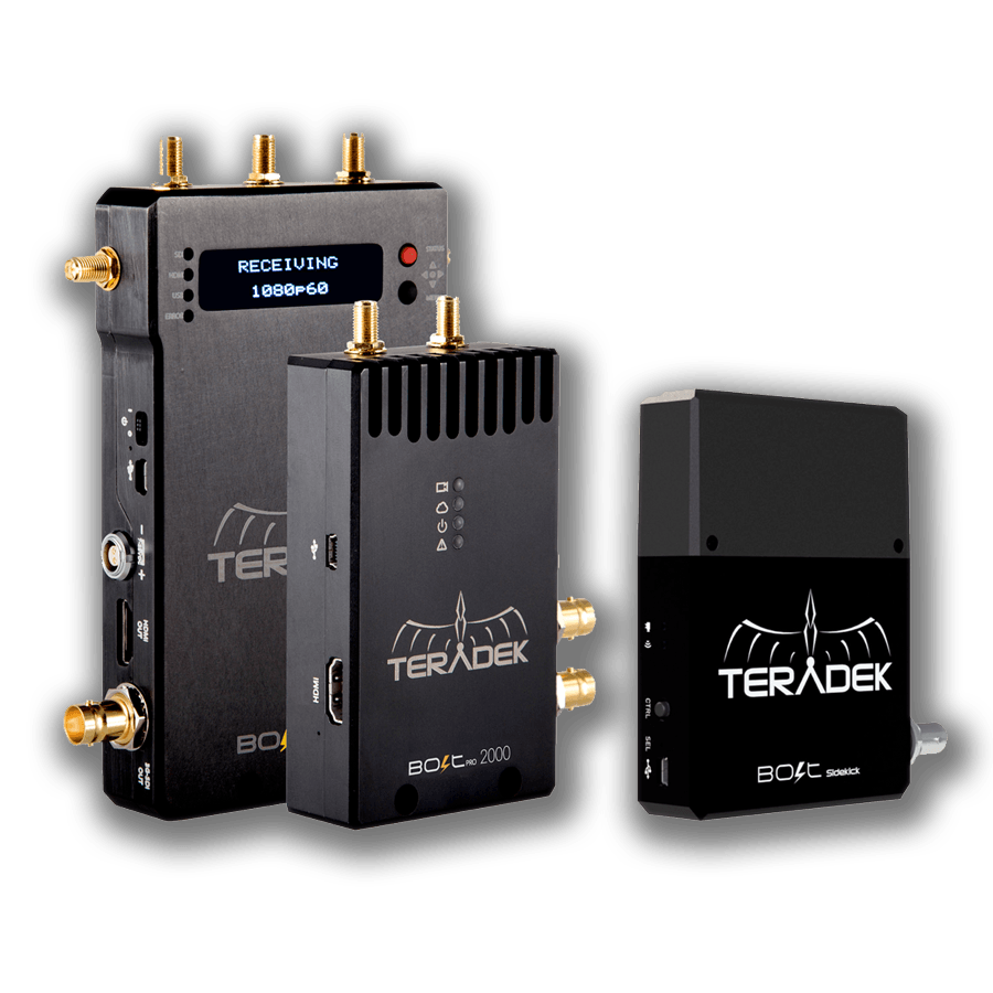 Wireless Teradek Bolt Pro 2000 Sidekick Kit