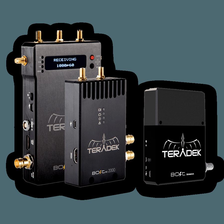 Wireless Teradek Bolt Pro 2000 Sidekick Kit