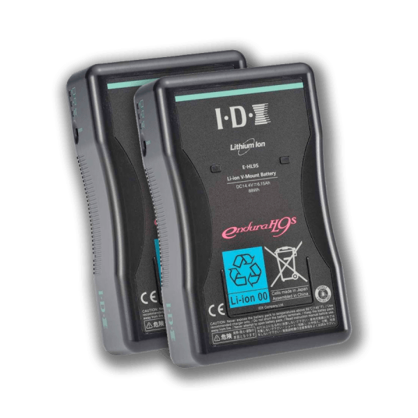 Power IDX HL9s V-Lock Batteries